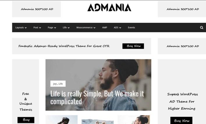 plantillas wordpress para adsense