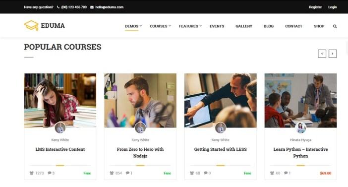 plantillas wordpress para educacion