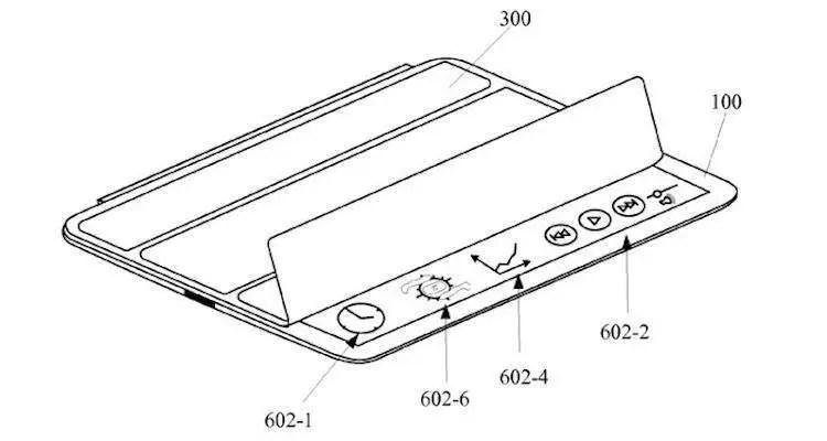 Apple, un brevetto svela una smart cover intelligente per iPad