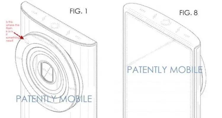 Samsung Galaxy K Zoom, il successore mostrato in un brevetto