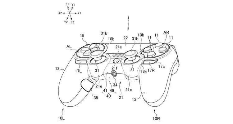 PlayStation 4: brevettato un DualShock con ancora più tasti