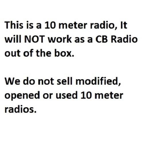 President Richard 10 Meter Amateur Ham Radio Transceiver