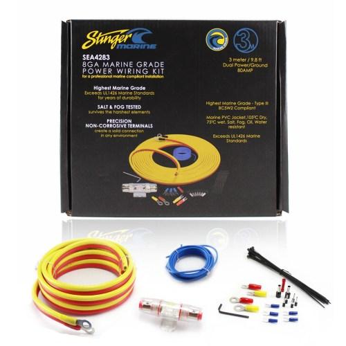 small resolution of stinger sea4283 boat utv marine amplifier installation kit 8ga 3 details about stinger sea4283 boat utv