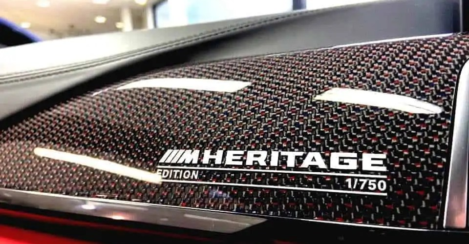 The BMW M4 Heritage Edition The Last Hurrah