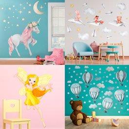 Wandtattoo fr die Dekoration von Kinderzimmern
