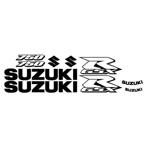 Aufkleber Suzuki modell GSX R 750 2006 Contour