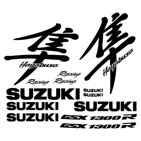 Aufkleber Suzuki Modell GSX 1300R Hayabusa