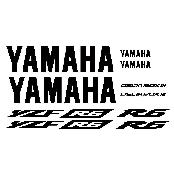 Aufkleber Yamaha