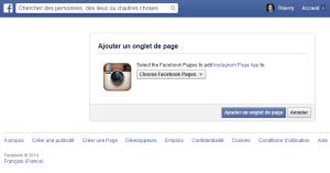 Installer Instagram sur votre Page Facebook