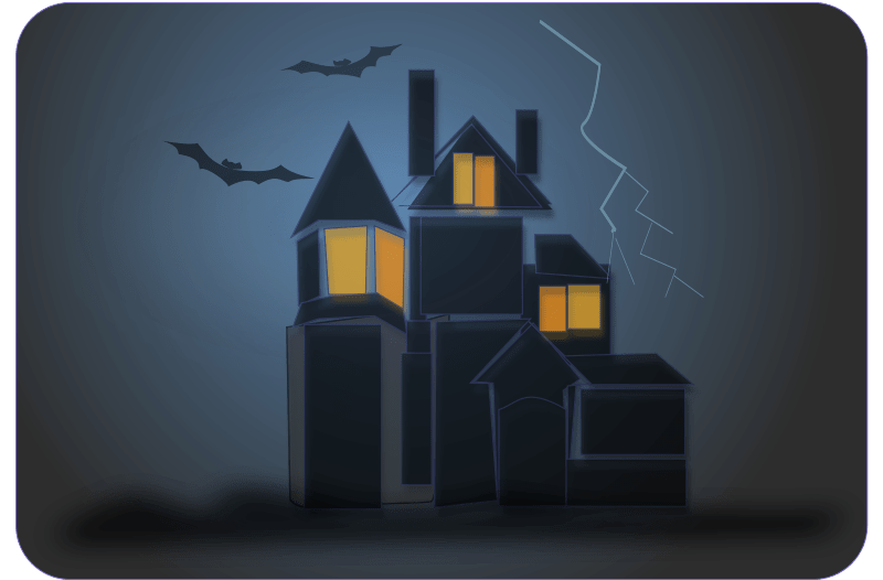 Haunted House Clipart  Free Halloween Graphics