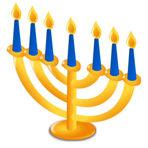 free hanukkah clipart & animations