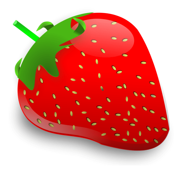 Cartoon Strawberry Clip Art