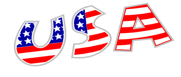 American Flag Clipart Free USA Graphics