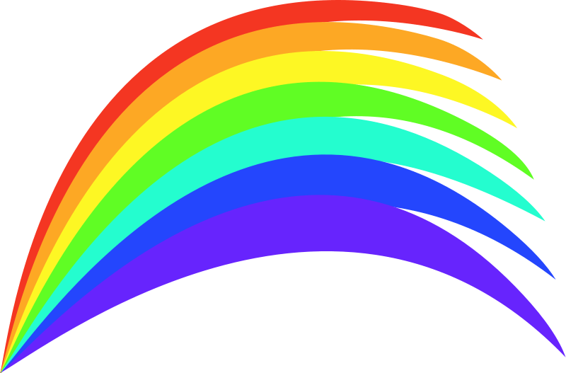 Image result for a line divider with rainbow colour