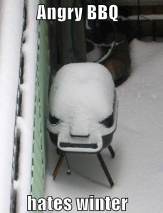 Angry BBQ Hates Winter