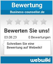 Bewertungen zu business-counsellor.de