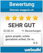 Bewertungen zu glarean-magazin.ch
