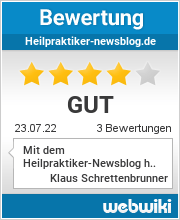 Bewertungen zu heilpraktiker-newsblog.de