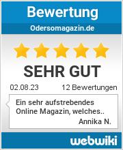 Bewertungen zu odersomagazin.de