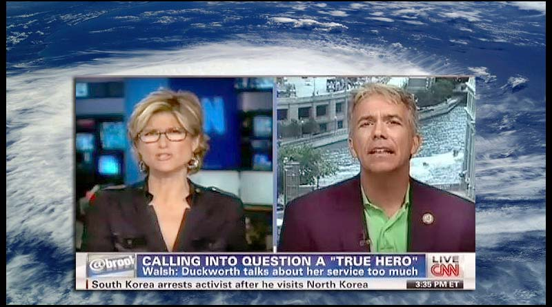 Rep. Joe Walsh to war veterans: be noble and shut up about your military service