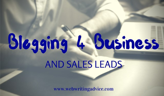 blogging for business graphic