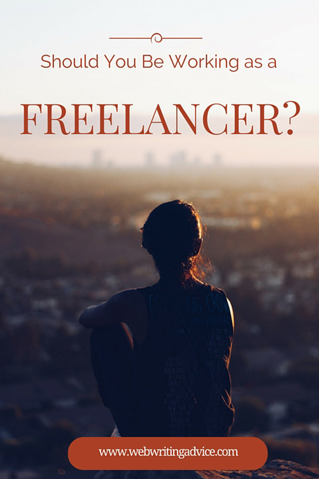 Should You Be Working as a Freelancer?