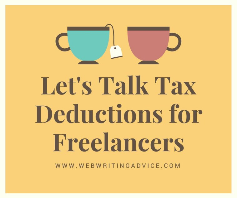 Let's Talk Tax Deductions for Freelancers