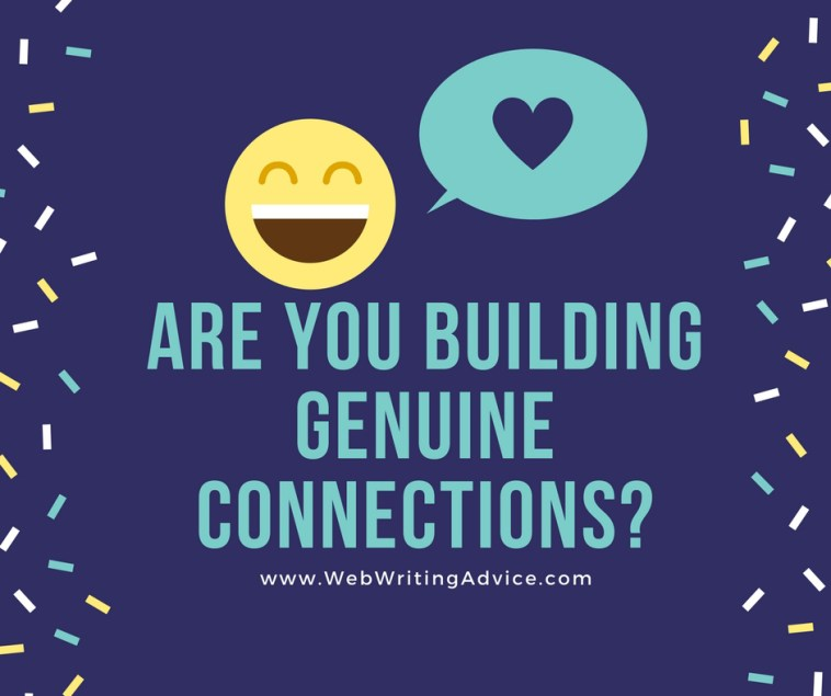 Are You Building Genuine Connections?
