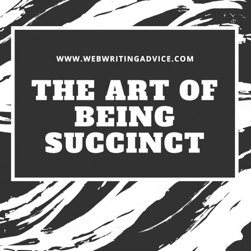 The Art of Being Succinct