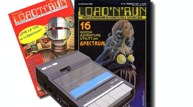 Cintas y Revistas: Load 'N' Run (Primera Parte)