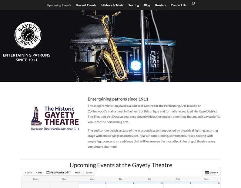 Historic Gayety Theatre