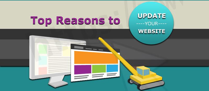 Top Reasons to Update Your Website