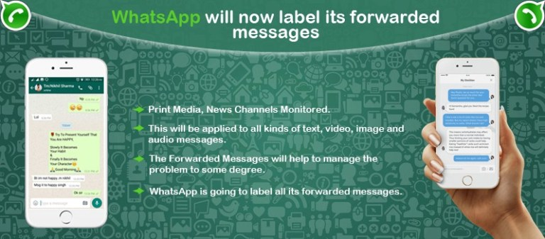 WhatsApp will now Label its Forwarded Messages