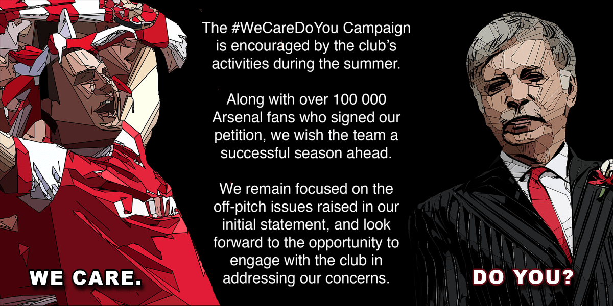 New season's wishes from the #WeCareDoYou Campaign