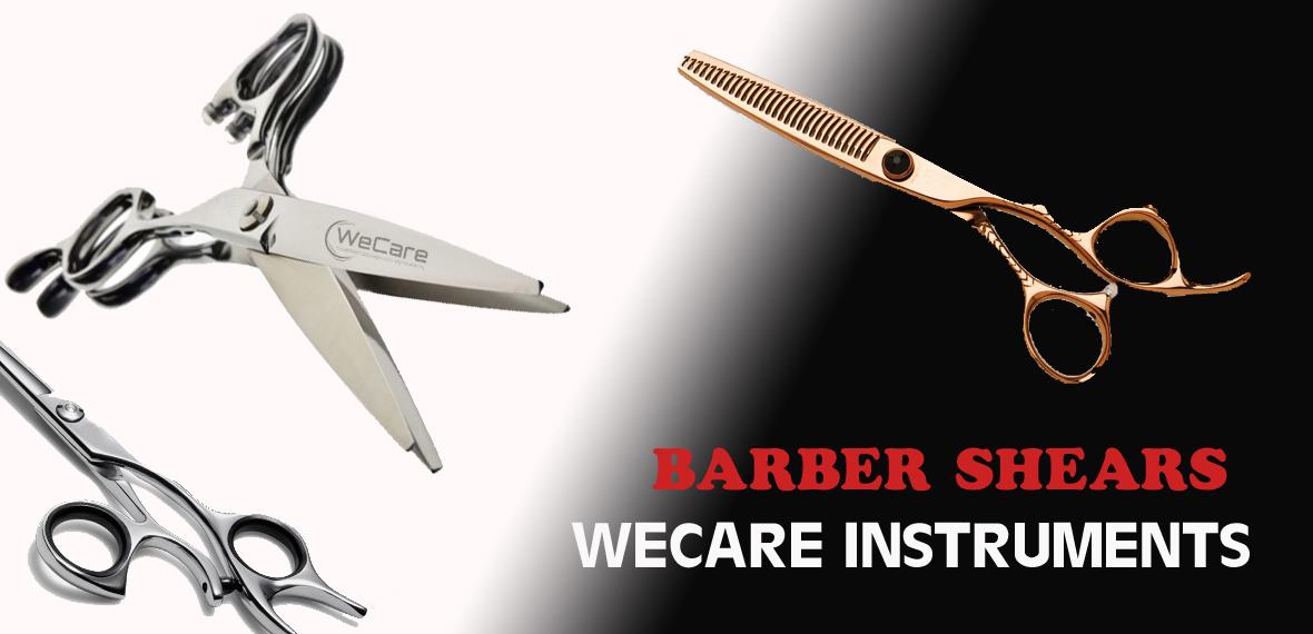 barber shears banner