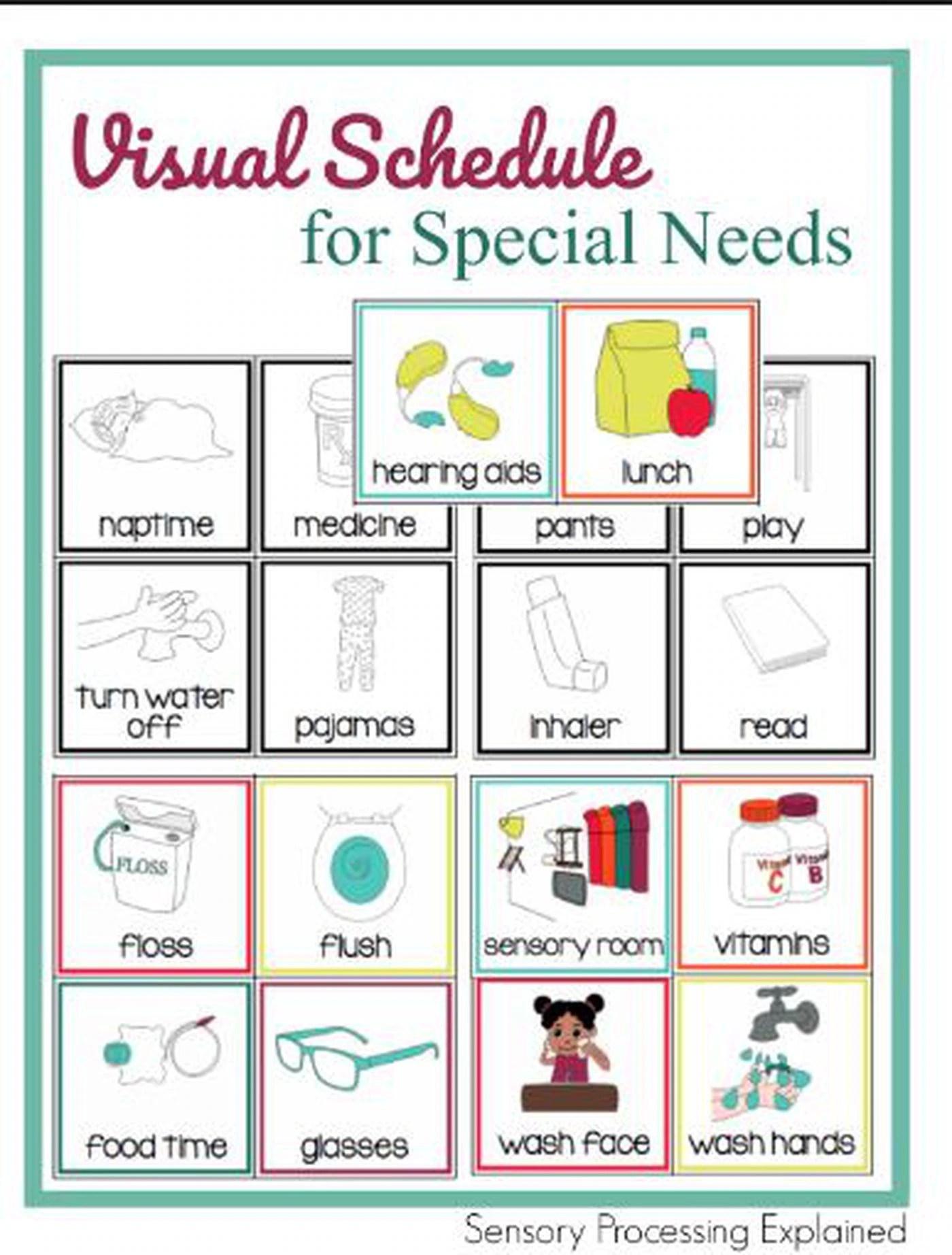 Community Classroom Special Needs Teacher Wants Visual