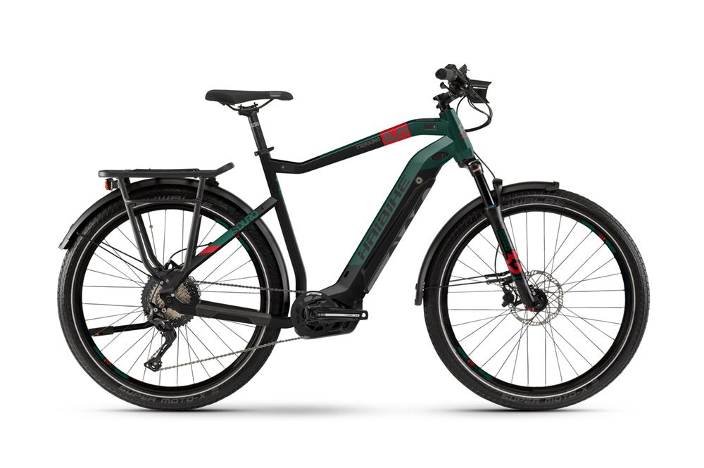 2020 Haibike Sduro Trekking 8.0 Electric Hybrid Bike in Black