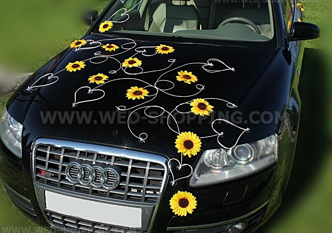 Dekoration Kits fr Hochzeitsauto Autoschmuck zur Hochzeit