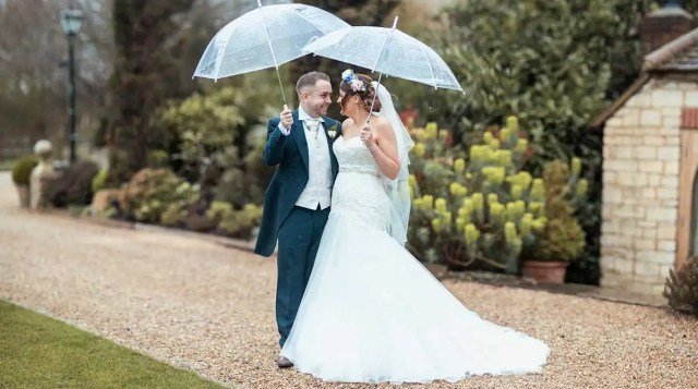 real weddings milton keynes: clare and dean's fabulously