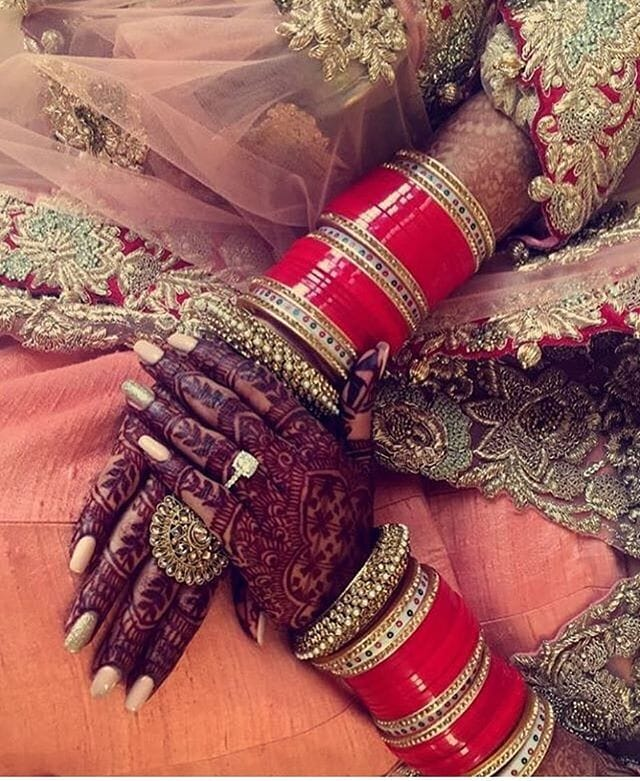 bridal chura designs