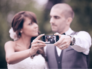 social media and wedding