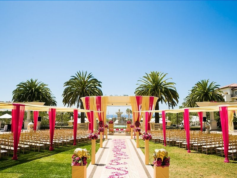 Celebrity wedding themes