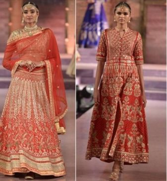 Indian wedding lehengas