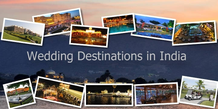 Destination wedding in India