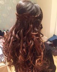 weddings in open hairtyles