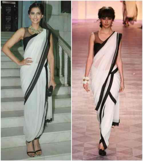 Saree draping styles