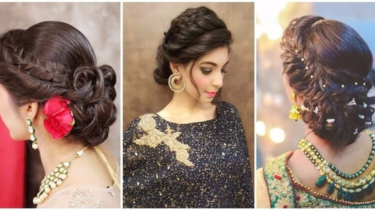 8 Best Hairstyles For Lehenga Choli Wedamor
