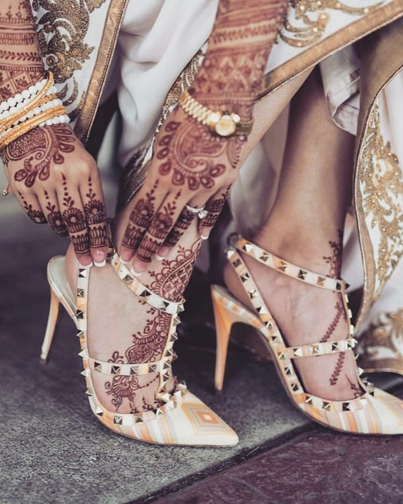 high-heels for bride-to-be