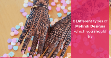 8 Different types of Mehndi Designs