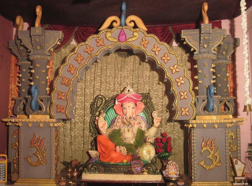 Ganpati Decoration Mandap